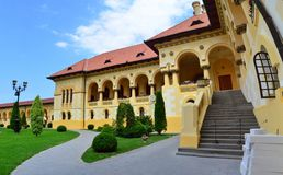 La cathédrale de St Michael - conditions de vie - Alba Iulia, Roumanie image libre de droits