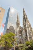 La cathédrale New York de St Patrick image libre de droits