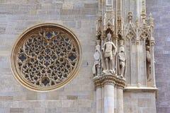 La cathédrale de St Stephen, Vienne, Autriche image stock