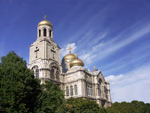 La cathédrale de supposition Photographie stock