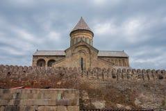 La cathédrale de Svetitskhoveli, la Géorgie Images stock