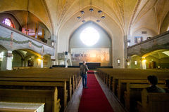 La cathédrale de Tampere images libres de droits