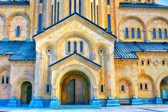 La cathédrale de trinité sainte Image stock