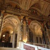 La cathédrale de Vienne est remplie d'icônes incroyables Image stock