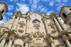 La cathédrale de Vierge Marie de la conception impeccable, Cuba Photo stock