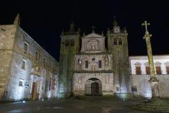 La cathédrale de Viseu Photographie stock