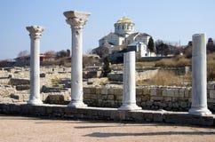 La cathédrale de Vladimir, Chersonese. Photos stock