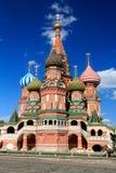 La cathédrale du basilic de saint, Moscou, Russie Photos libres de droits