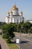 La cathédrale du Christ le sauveur à Moscou Image libre de droits
