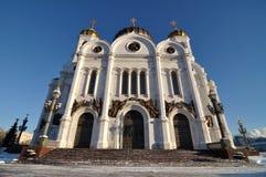 La cathédrale du Christ le sauveur, Russie Images libres de droits