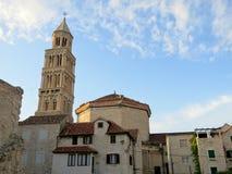La cathédrale du saint Domnius, fente, Croatie photo stock