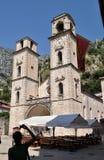 La cathédrale du saint Tryphon images libres de droits