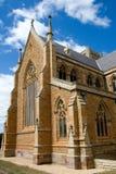 La cathédrale du sauveur de rue Photos libres de droits