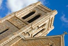 La cathédrale du sauveur de rue Image stock