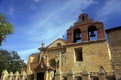 La cathédrale en Santo Domingo est un point de repère architectural Photos stock