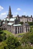La cathédrale et la nécropole du mungo de rue de Glasgow Image libre de droits