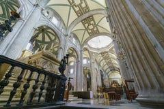 La cathédrale historique de la métropolitaine de Mexico photo stock