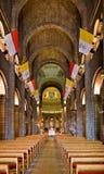 La Cathédrale Innenraum Stockfoto