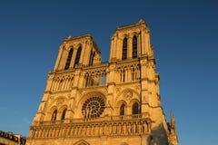 La cathédrale Notre Dame Photographie stock libre de droits