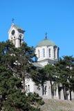 La cathédrale orthodoxe dans Niksic, Monténégro Photo libre de droits