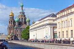 La cathédrale a sauvé - en fonction - le sang image libre de droits