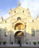 La cathédrale Vérone Vénétie Italie l'Europe Image libre de droits