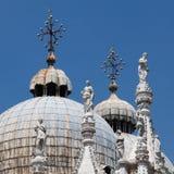 La cathédrale Venise du repère de rue de Basilica di San Marco photographie stock libre de droits