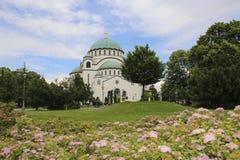 La cath?drale du saint Sava ? Belgrade, Serbie photo stock