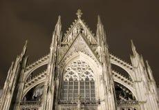 La cathédrale célèbre de Cologne Images libres de droits