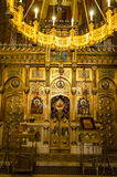 La cathédrale de Curtea de Arges Photos stock