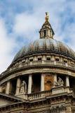 La cathédrale de Rue-Paul à Londres Photo libre de droits