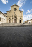 La cattedrale Arezzo Italia toscana Europa Fotografia Stock Libera da Diritti