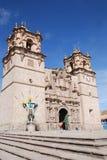 La cattedrale Baselica San Carlos Borromeo Fotografie Stock