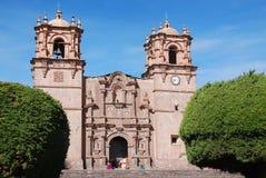 La cattedrale Baselica San Carlos Borromeo Fotografia Stock Libera da Diritti