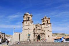 La cattedrale Baselica San Carlos Borromeo Immagine Stock Libera da Diritti