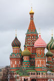 La cattedrale del di Vasily benedetto Immagini Stock Libere da Diritti