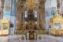 La cattedrale del diciannovesimo secolo in Uglic, Russia di epifania Immagini Stock