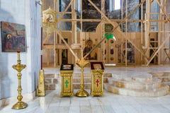 La cattedrale del diciannovesimo secolo in Uglic, Russia di epifania Fotografie Stock Libere da Diritti