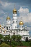 La cattedrale del dormitorio di Mosca Immagini Stock Libere da Diritti