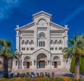 La cattedrale del Nicholas del san nella cattedrale di Monaco Fotografia Stock Libera da Diritti