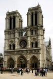La cattedrale del Notre Dame de Paris, Francia Immagini Stock