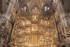 La cattedrale del primate di St Mary di Toledo, Spagna Immagine Stock Libera da Diritti