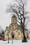 La cattedrale del salvatore & del x28; Spassky Cathedral& x29; nel monastero di Andronikov Immagine Stock