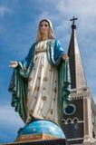La cattedrale dell'immacolata concezione a Chantaburi in tailandese Fotografia Stock