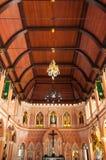 La cattedrale dell'immacolata concezione a Chantaburi in tailandese Fotografia Stock Libera da Diritti