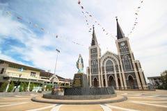 La cattedrale dell'immacolata concezione, Maephra Patisonti Niramon Church Fotografie Stock