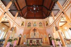 La cattedrale dell'immacolata concezione, Maephra Patisonti Niramon Church Fotografia Stock
