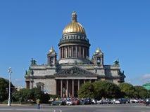 La cattedrale dell'Isaac del san Fotografie Stock