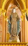 La cattedrale della chiesa di immacolata concezione, Chanthaburi Fotografia Stock
