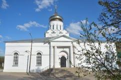 La cattedrale della natività di Cristo (1696), Aleksandrov, anello dorato della Russia Immagini Stock